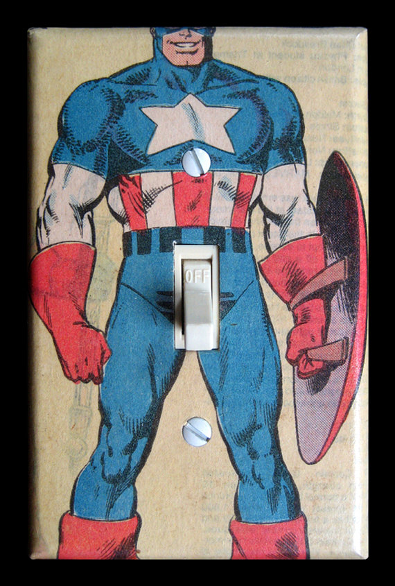 Captain America light switch