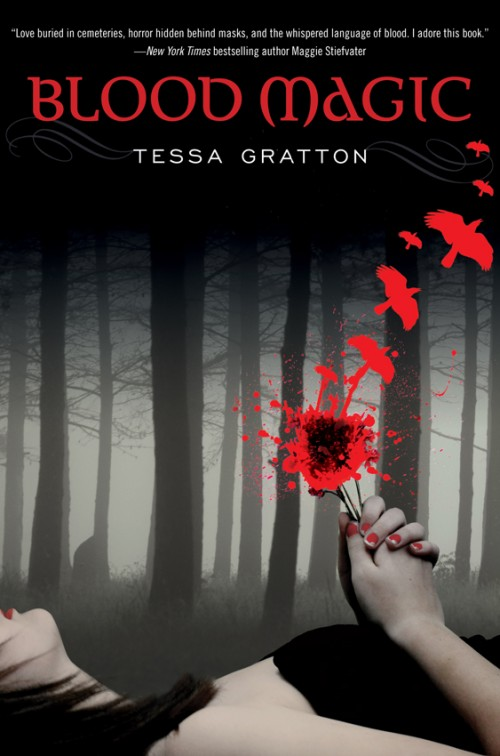 Blood Magic by Tessa Gratton cover