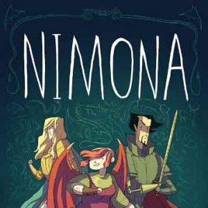 nimona graphic novel cover