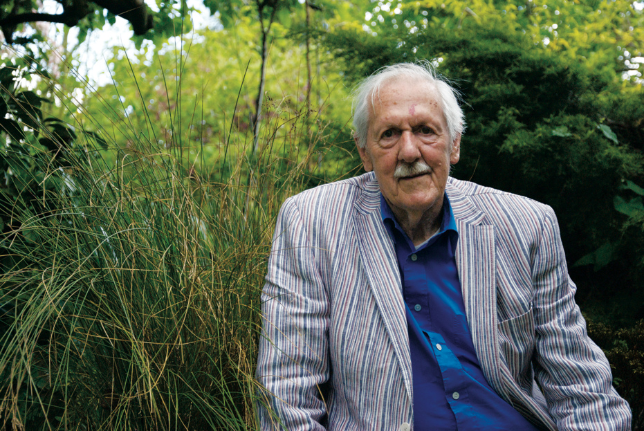 Brian Aldiss, by Joel Meadows Photography
