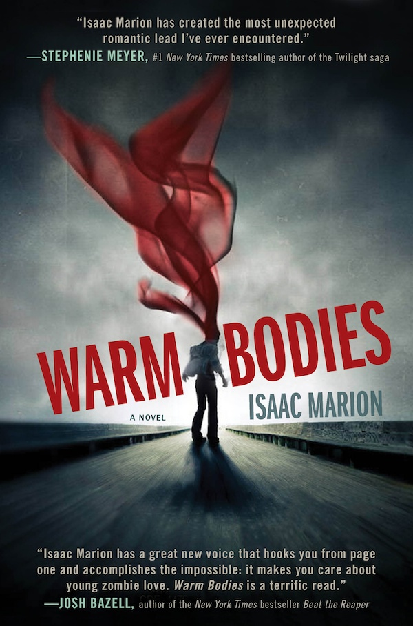 Warm bodies cover isaac marion