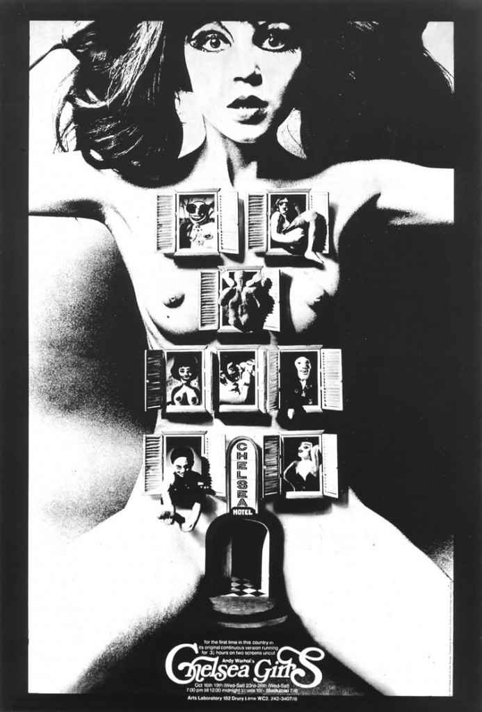 Chelsea Girls poster warhol