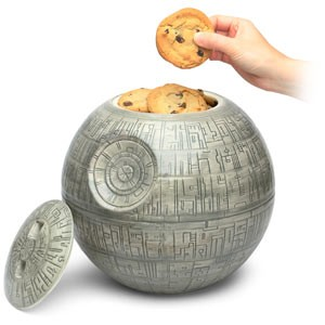 death star cookie jar think geek