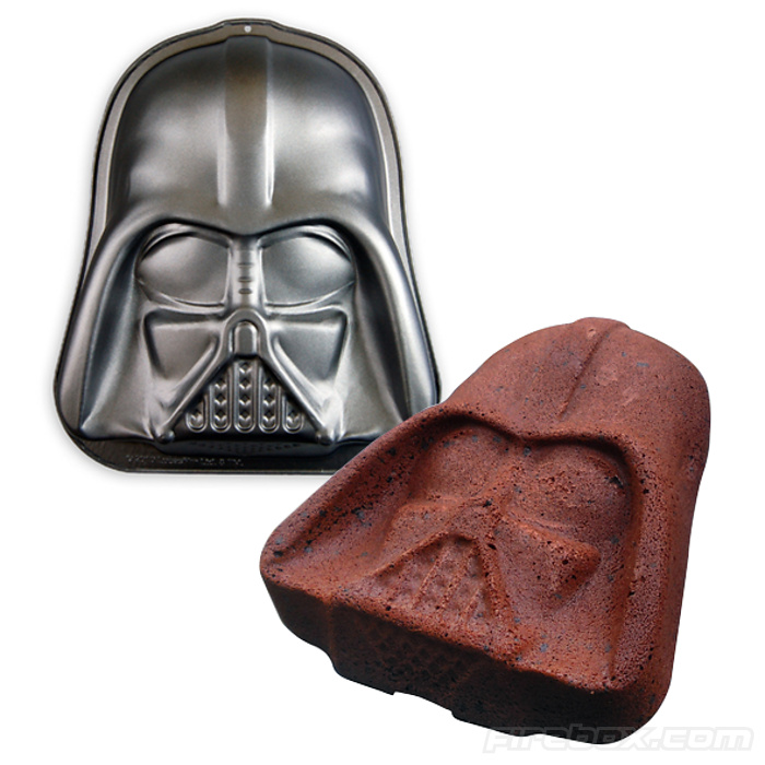 darth vader cake tin