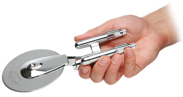 star trek enterprise pizza cutter think geek