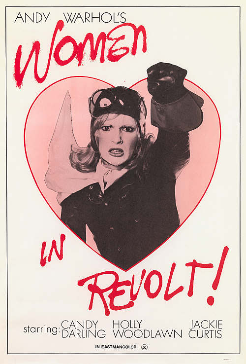 warhol women in revolt