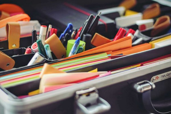 revision supplies, bright stationery and writer toys