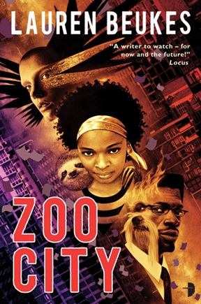 Zoo City Cover Lauren Beukes Angry Robot